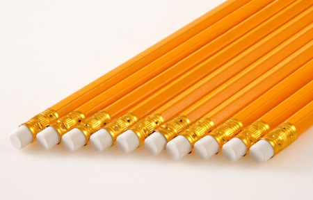 Bunch of Lead Pencils Stock Photo - 16103143