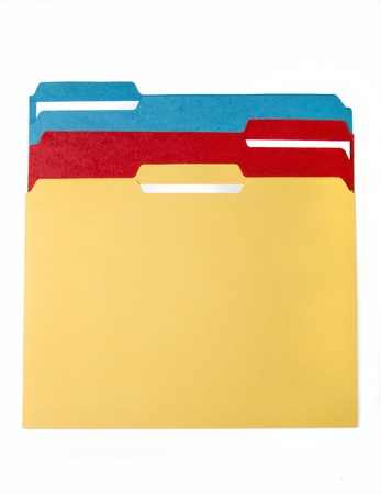 Colorful File Folders  photo