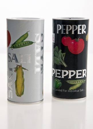 Disposable Salt and Pepper Shakers photo