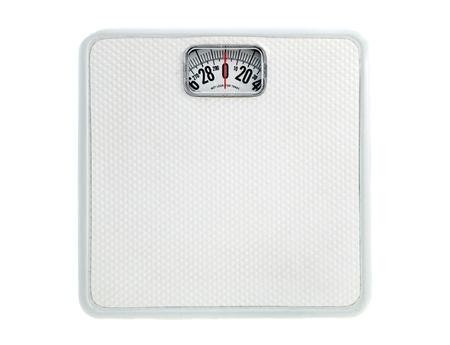 White Bath Scale