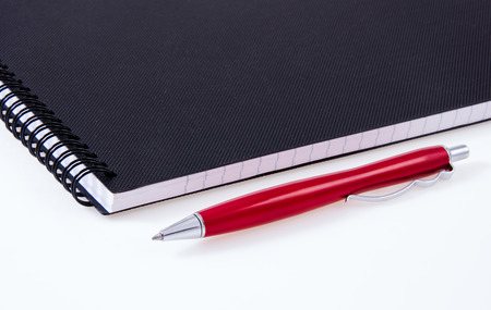 Note pad and ink pen for salemen orders