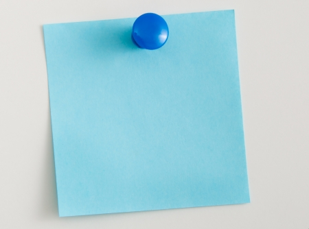 Note papers,for pinning to cork board Stock Photo - 22333289