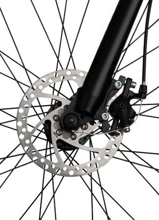 New bike front disc brake system