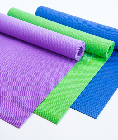 Roll out mats for workout and aerobics