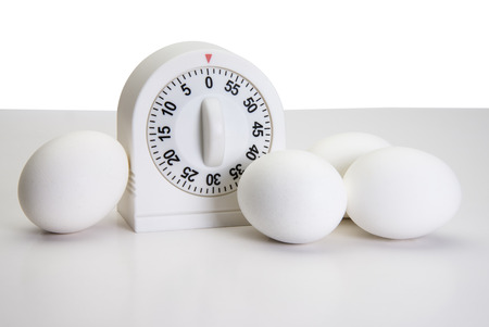 Kitchen Timer and Eggs