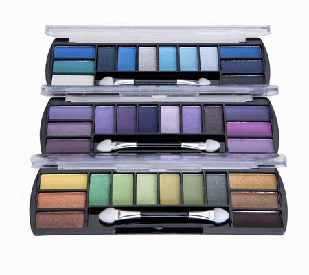 eye shadows: Multi colored shades for colorful eye shadows