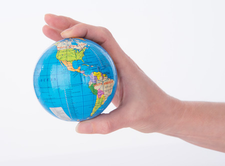 world at your fingertips: The world globe at your childs fingertips