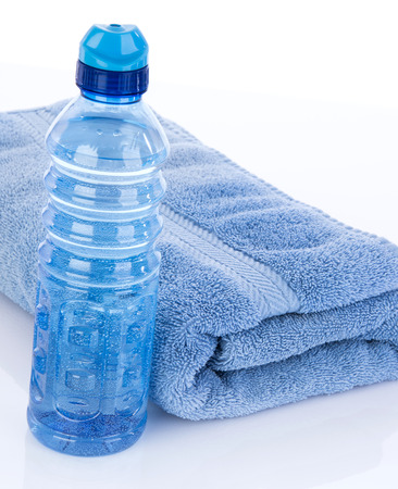 hydrate: Water bottle to hydrate after workout sweat
