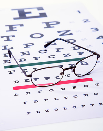 sight chart: Caring for eye sight by proper glasses
