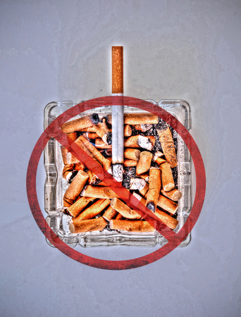 Quitting the bad habit of smoking cigarettes