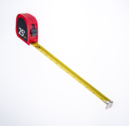 Large Tape measure for marking wood cuts