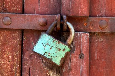 safeguards: padlock Stock Photo