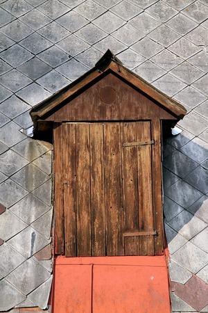 dormer: Dormer for storing hay