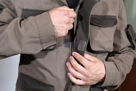 boilersuit: Specialized mens clothing with pockets