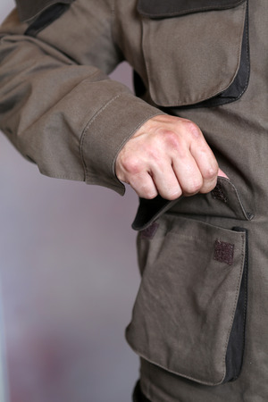 men's clothing: Specialized mens clothing with pockets
