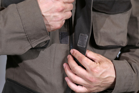 Specialized mens clothing with pockets