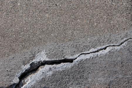 cracked concrete cement step