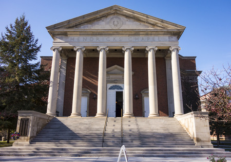 Hendricks Chapel is the diverse religious, spiritual, ethical and cultural heart of Syracuse University, in Syracuse, New York, USA.