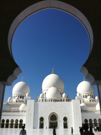 sheik: Sheik Zayed Mosque Abu Dhabi