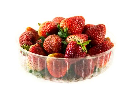 srawberries: strawbery fruit packet