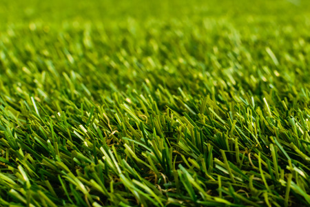 Close up of golf green grass photo