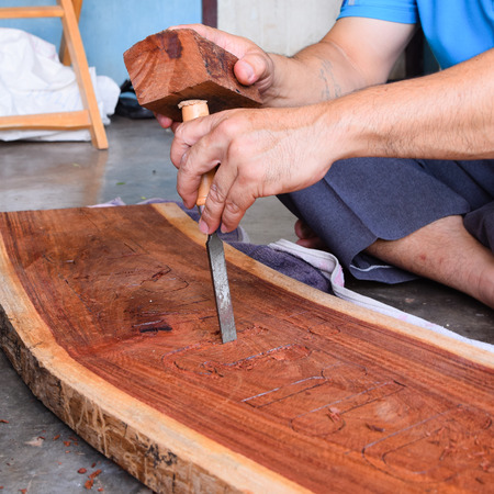 woodcarving: Carpentry, woodcarving