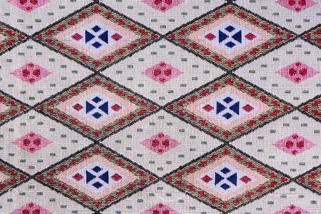 Fabric plaid textured. Cloth background photo