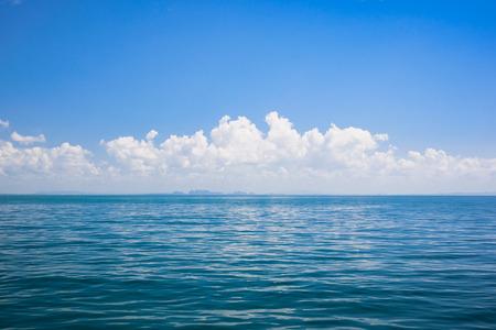 blue sea space sky background Stock fotó