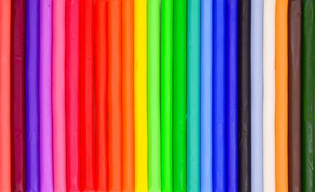 educaton: Colorful plasticine clay  for background