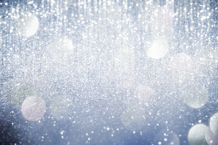 Abstract silver  lights on background 写真素材