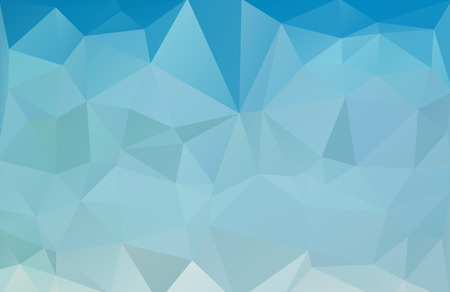 blue sea low polygonal abstract background