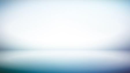 Abstract Blue white gradient background for creative     widescreen  (16:9)  backdrop Archivio Fotografico