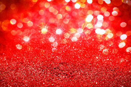 Abstract red glitter background Stock Photo