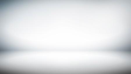Abstract white gradient background for creative widescreen backdrop (16:9) Foto de archivo