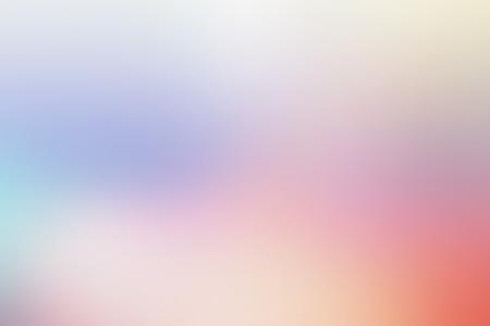 パステル マルチ カラー グラデーション ベクターの背景、単純なフォームと現代的な背景画像として色空間のブレンド。 写真素材