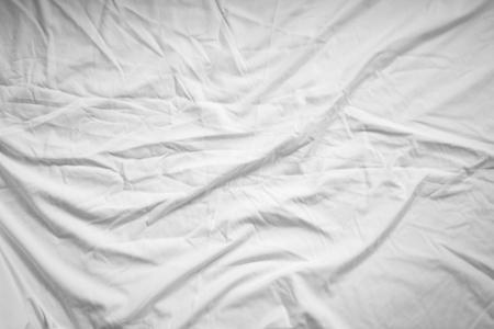bedlinen: White fabric texture