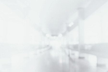 Abstract blurred corridor for background
