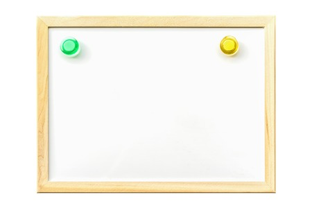 pin board: White board with magnetic board pin ,blank for copy space
