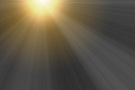 nakładki: Zachód słońca promieni światła dla nakładki efekt projektu