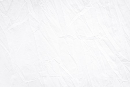 Wrinkle white fabric folding texture detailed for background