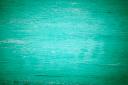 aqua background: green blue distressed background with aged wood,vintage tone Stock Photo