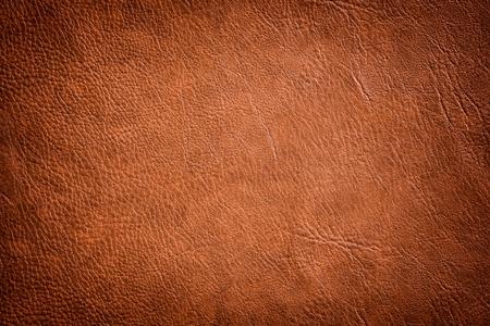 Brown Leather Texture als Luxus klassischen Hintergrund verwendet. Standard-Bild