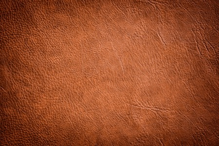 Brown Leather Texture used as luxury classic Background.