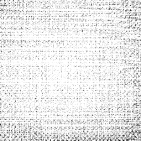 Fabric canvas texture vector background for design blackdrop or overlay Illustration