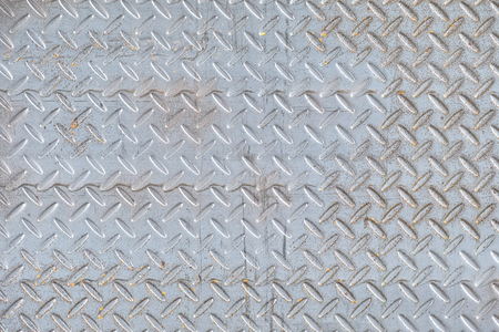 Metal steel diamond plate texture abstract background