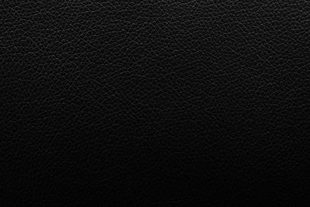 Einfache Oberfläche des schwarzen Luxusledertexturhintergrundes benutzte uns Hintergrund oder Produktdesign