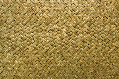 Natural wicker braided woven rattan Sedge grass texture background 版權商用圖片