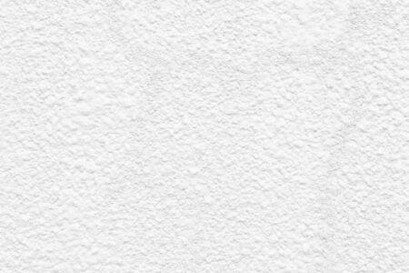 White Clean Cement Wall Paint Texture Background, Closeup Rough Texture White Paint Concrete Wall architecture design background