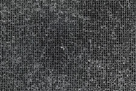Close up of dust on home filter