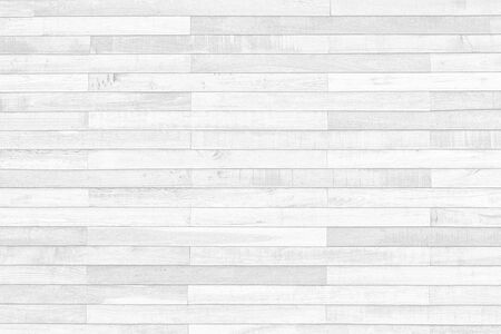 White wooden wall texture abstract background objects for furniture.wooden panels is then used horizontal taken from old home wall in asia Stockfoto